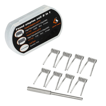 Geekvape Fused Clapton Coils 2 in 1 (8 Pieces)