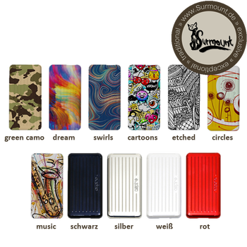 Aspire Puxos Wechselcover (Side Panels) silber