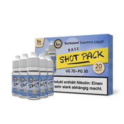 Surmount Shot Pack Cloud Base (70/30, 5x10ml)