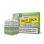 Surmount Shot Pack VG Base (85/15, 5x10ml)
